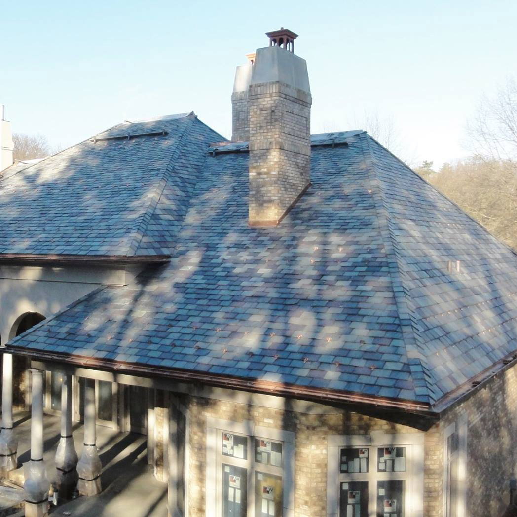 Fox Chapel Slate Roof