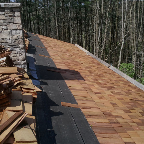 Private Residence in Murrysville with Cedar Shake Roof